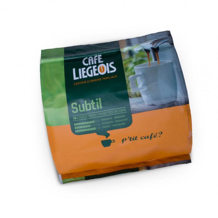 """Kawa w saszetkach Café Liégeois """"Subtil"""", 18 szt."""