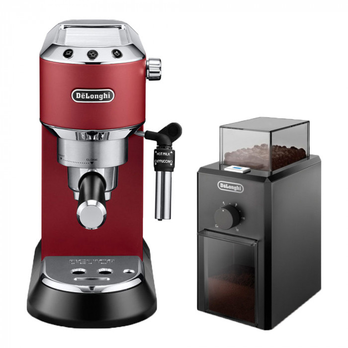 "Coffee machine De'Longhi ""EC 685.R"" + ""KG79"""