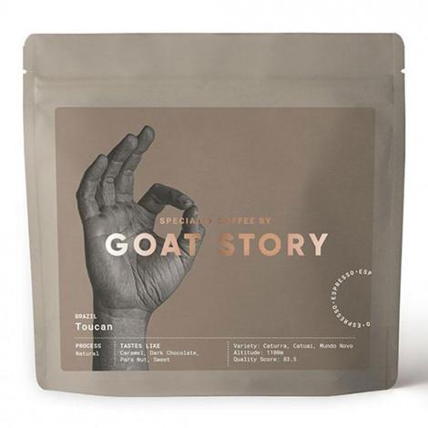 """Specialty koffiebonen Goat Story """"Brazil Toucan"""", 250 g"""