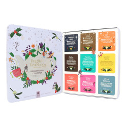 "Teede komplekt English Tea Shop ""Premium Holiday Collection White Gift Tin"", 72 tk."
