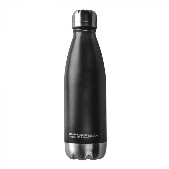 "Thermo bottle Asobu ""Central Park Black Silver"", 500 ml"