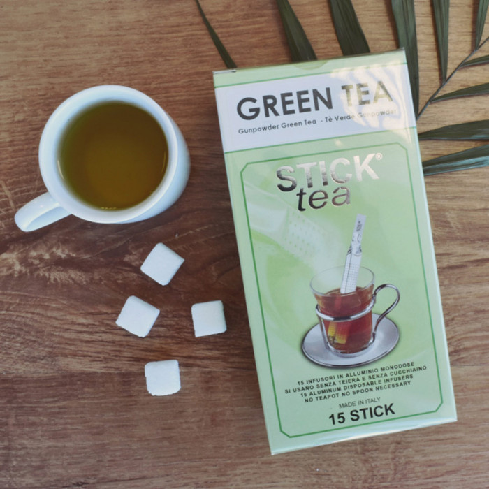 "Roheline tee Stick Tea ""GREEN TEA"""