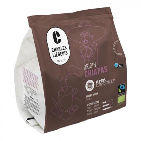 "Kaffee-Pads Charles Liégeois ""Chiapas"", 18 Stk."