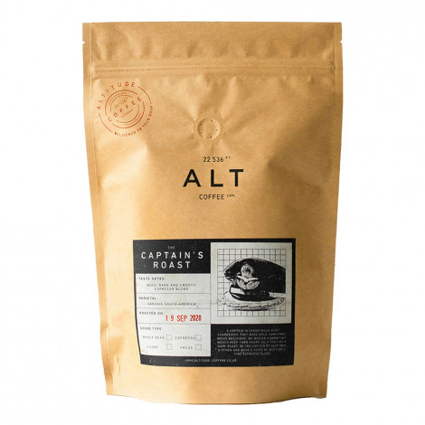 "Coffee beans Altitude Coffee ""The Captain's Roast"", 250 g"