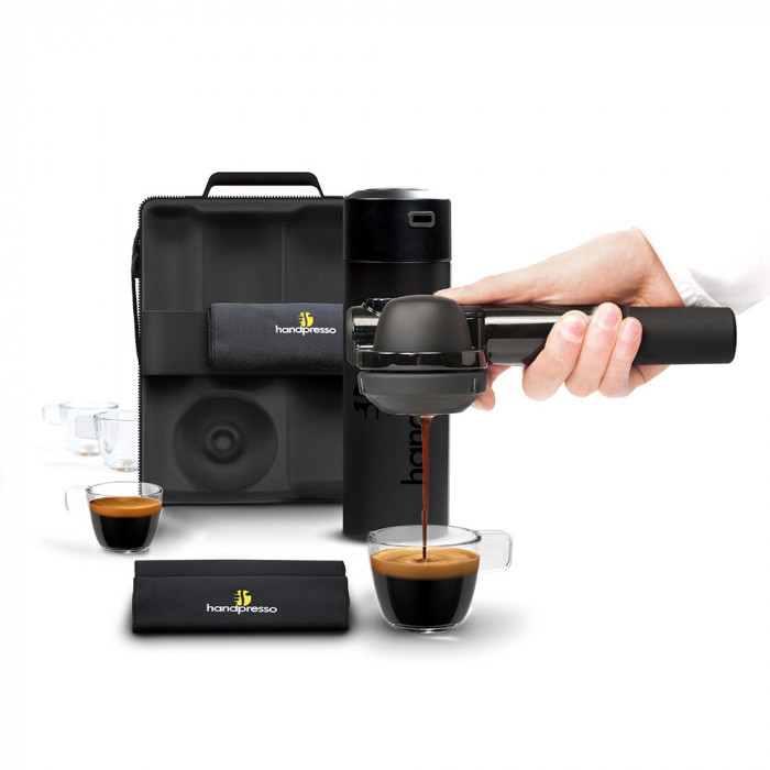 "Coffee machine Handpresso ""Pump Black"" set"