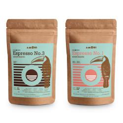 "Kaffeebohnen-Set ""Amori Espresso Set"", 2 x 1 kg"