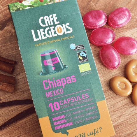 "Zestaw kapsułek NESPRESSO Café Liégeois ""Chiapas"", 3 x 10 szt."