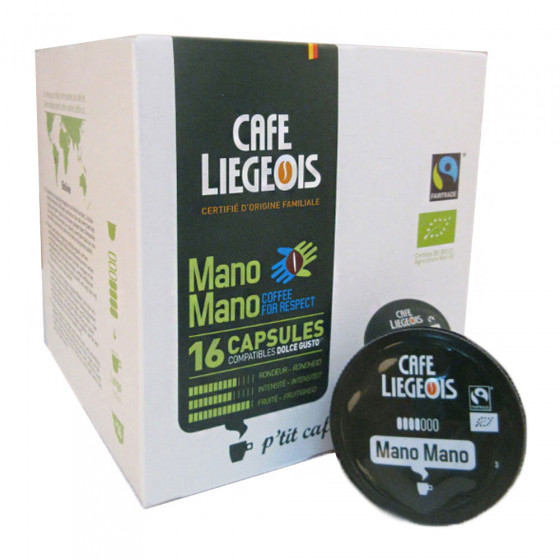 """Kavos kapsulės Café Liégeois """"Mano Mano"""", 16 vnt."""
