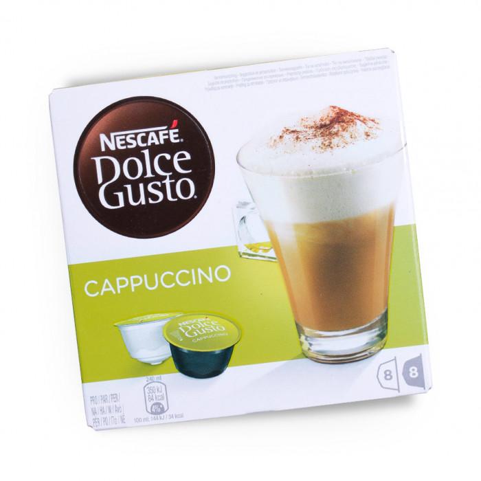 """Kavos kapsulės NESCAFÉ Dolce Gusto """"Cappuccino"""", 8×8 vnt."""