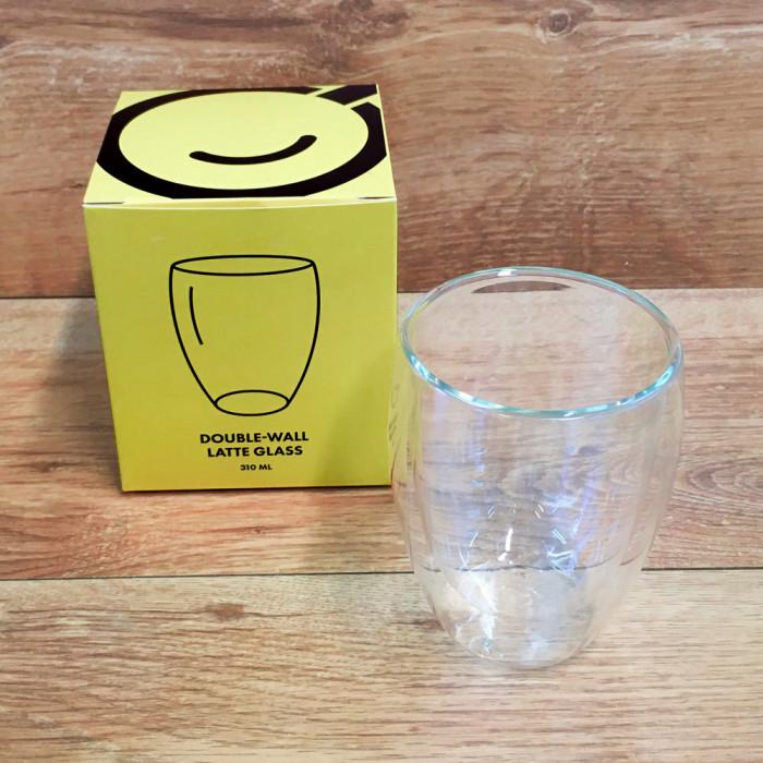 Kavos Draugo latte stiklinių rinkinys, 2 vnt.