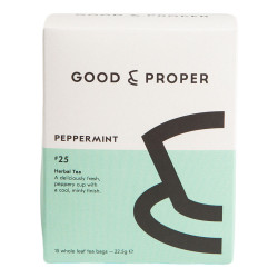 "Tee Good & Proper ""Peppermint"", 15 kpl."