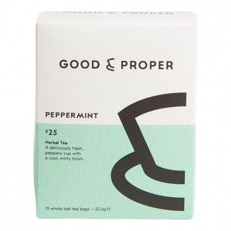 "Tee Good & Proper ""Peppermint"", 15 Stk."