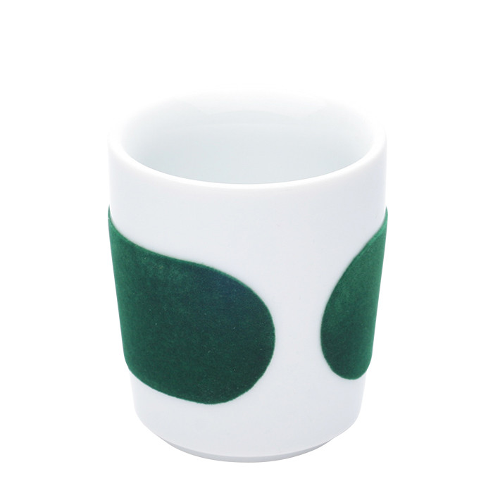 "Espresso cup Kahla ""Five Senses touch! Green"", 90 ml"