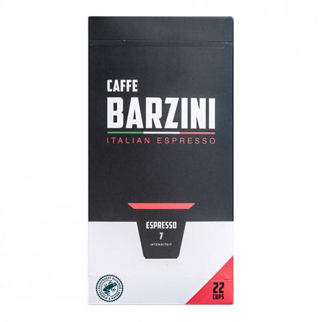 "Kohvikapslid sobivad Nespresso® masinatele Caffe Barzini ""Espresso"", 22 tk."