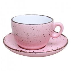 "Coffee cup Inker ""Iris Dots Pink"", 170 ml"