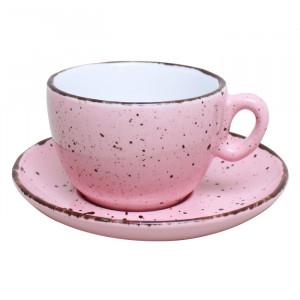 """Kavos puodelis Inker """"Iris Dots Pink"""", 170 ml"""