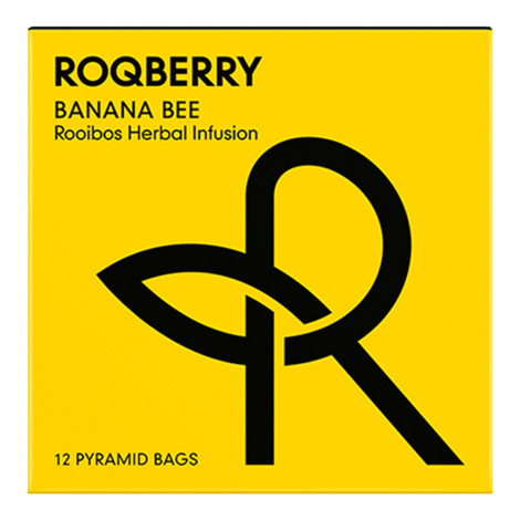 "Herbata Roqberry ""Banana Bee"", 12 szt."