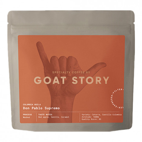 """Specialty koffiebonen Goat Story """"Colombia Don Pablo"""", 250 g"""