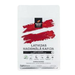 """Īpašās kafijas pupiņas Rocket Bean Roastery """"Latvijas Nacionālā kafija"""" 200 g"""