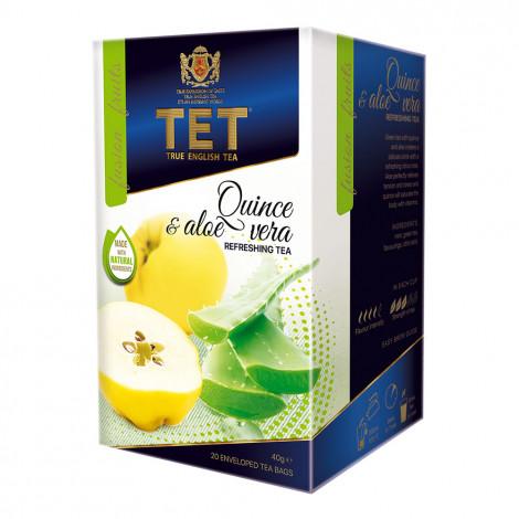 "Arbata True English Tea  ""Quince & Aloe Vera"", 20 vnt."