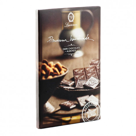 """Dark chocolate with almonds """"Laurence"""", 80 g"""