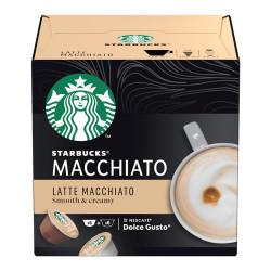 Кофе в капсулах для Dolce Gusto® Starbucks «Latte Macchiato», 6 + 6 ед.