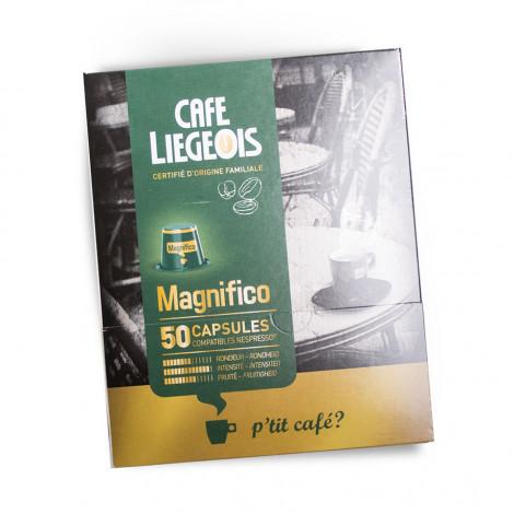 """Kafijas kapsulas Café Liégeois """"Magnifico"""", 50 gab."""