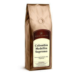 """Kavos pupelės Kavos Bankas """"Colombia Medellin Supremo"""", 500 g"""