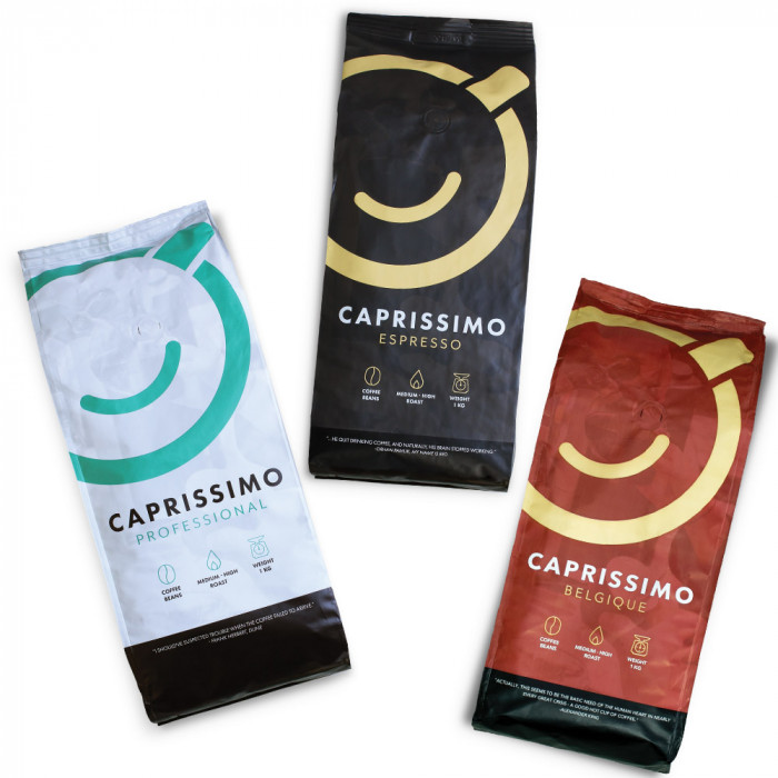 "Kaffeebohnen-Set ""Caprissimo Trio Mix"", 3 kg"