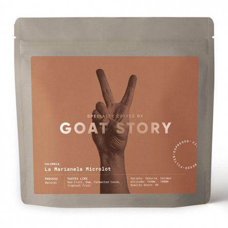 "Spezialitätenkaffee Goat Story ""Colombia La Marianela"", 250 g, ganze Bohne"