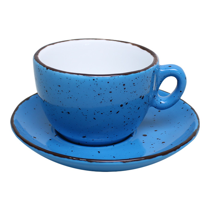"Kaffee Tasse Inker ""Iris Dots Blue"", 170 ml"