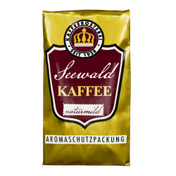 "Gemahlener Kaffee Seewald Kaffeerösterei ""Kaffee Naturmild"" (Filterkanne, Karlsbader Methode), 500 g"