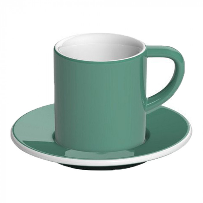 "Espressotasse mit Untertasse Loveramics ""Bond Teal"", 80 ml"