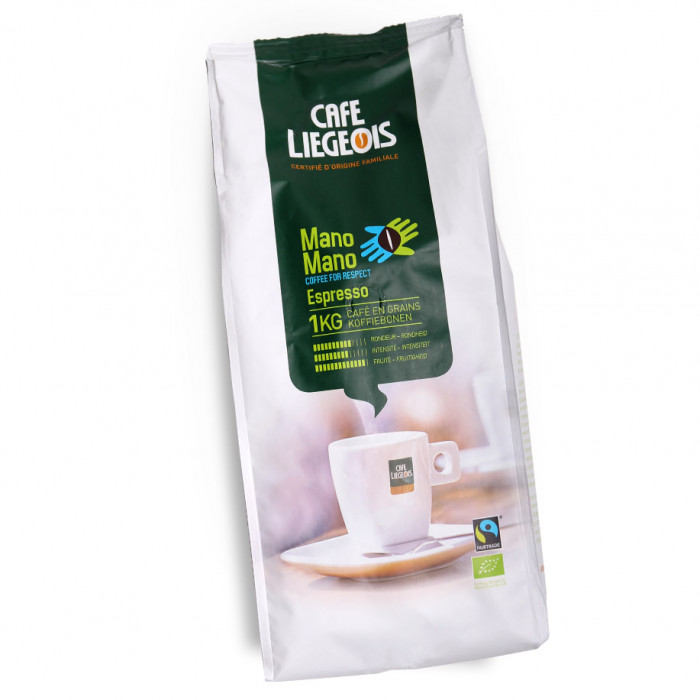 "Kahvipavut Café Liégeois ""Mano Mano"", 1 kg"