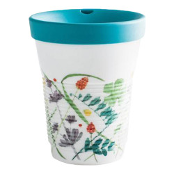 "Mug with a lid Kahla ""Cupit To Go Moon Meadow"", 350 ml"
