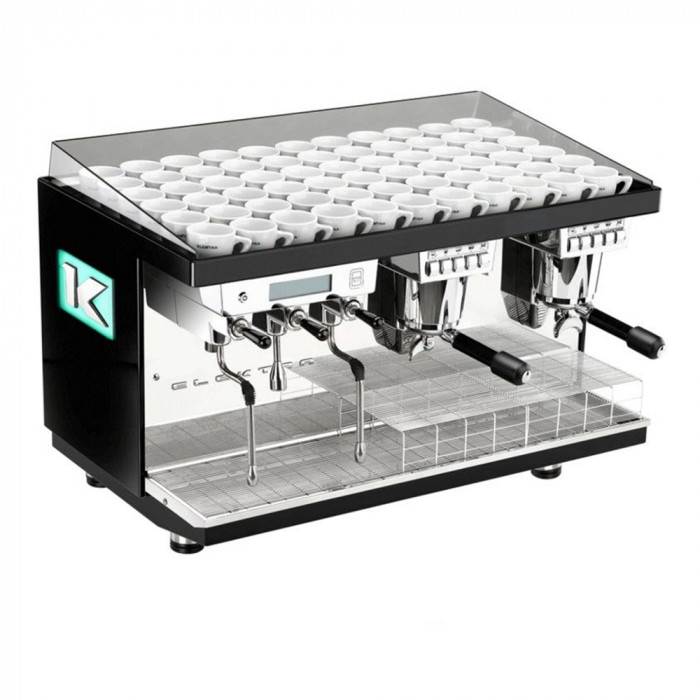 "Coffee machine Elektra ""Kup Pearl Black"" two groups"