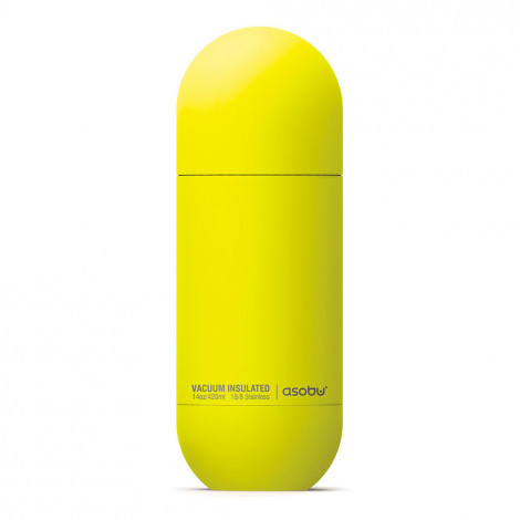 "Thermo krūze Asobu ""Orb Yellow"", 420 ml"