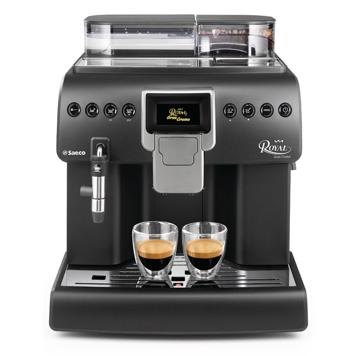 coffee machine saeco aulika royal gran crema the coffee mate. Black Bedroom Furniture Sets. Home Design Ideas