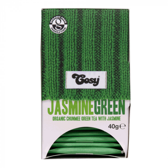 "Arbata Cosy ""Jasmine Green Organic"", 20 vnt."