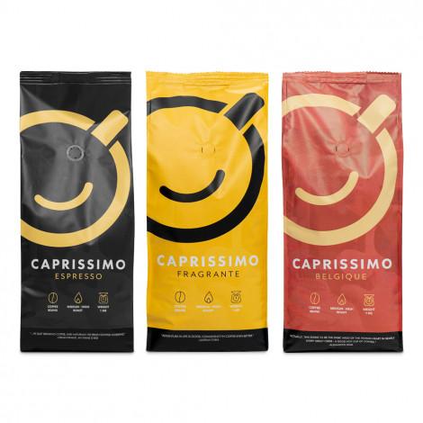 "Set koffiebonen ""Caprissimo trio strong"", 3 kg"