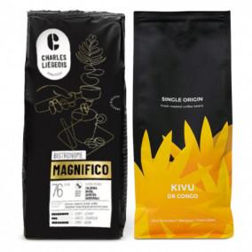"Kaffeebohnen-Set ""Kivu"" + ""Magnifico"""