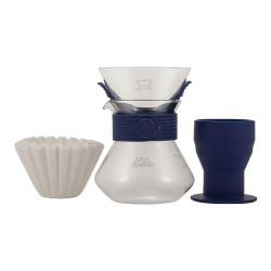 """Kafijas pagatavošanas komplekts """"Wave Style Up 185 (Navy)"""""""