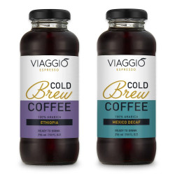"Cold brew coffee Viaggio Espresso ""Cold Brew Ethiopia + Decaf"", 592 ml"