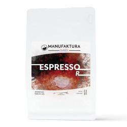 """Kawa ziarnista Manufaktura Kawy """"Espresso 60% Arabika 40% Robusta"""", 1 kg"""