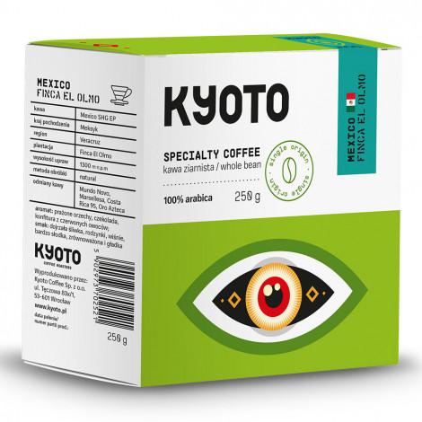 """Kawa ziarnista Kyoto Coffee Roasters """"Mexico Finca El Olmo """", 250 g"""