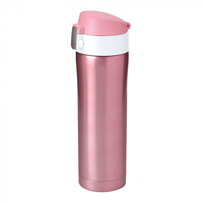 "Thermo cup Asobu ""Diva V600 Pink/White"", 450 ml"