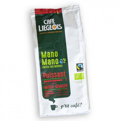 "Gemalen koffie Café Liégeois ""Mano Mano Puissant"", 250 g"