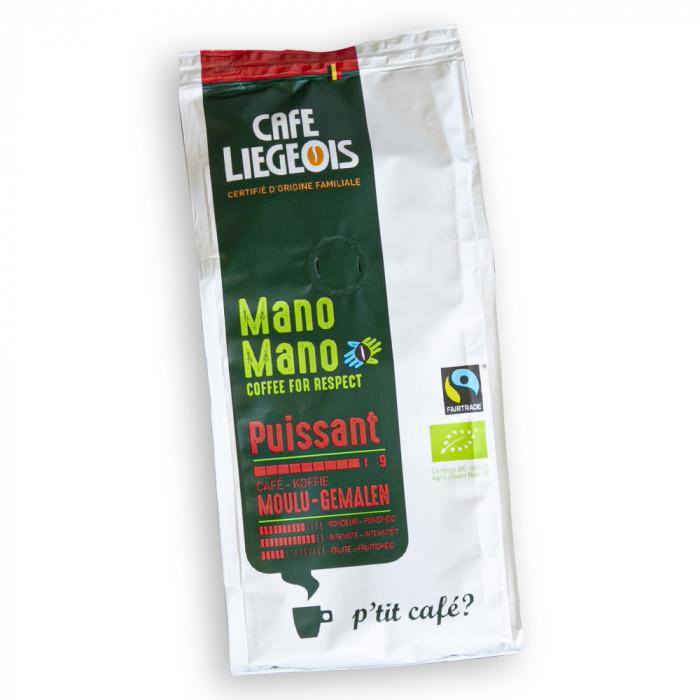 """Jahvatatud kohv Café Liégeois """"Mano Mano Puissant"""", 250 g"""
