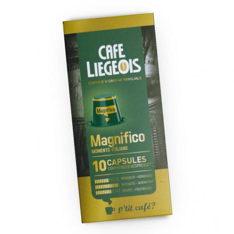 """Kafijas kapsulas Café Liégeois """"Magnifico"""", 10 gab."""