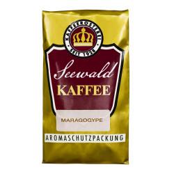 "Gemahlener Kaffee Seewald Kaffeerösterei ""Naturmild Maragogype"" (French Press), 500 g"